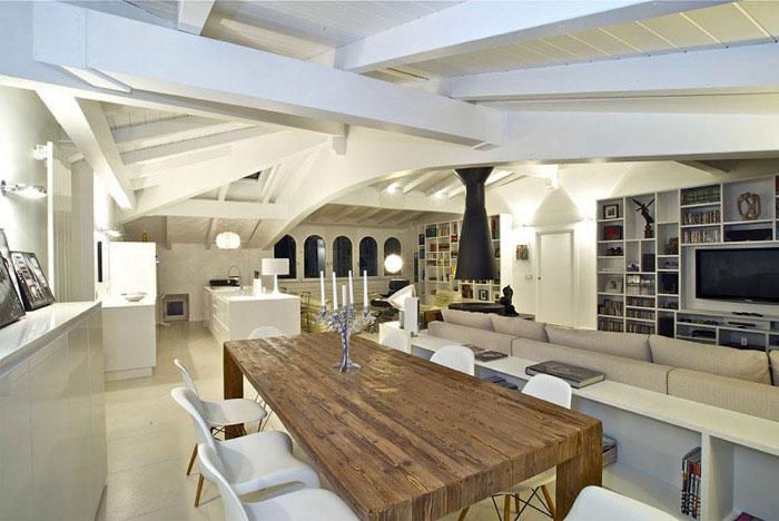 italian penthouse living area6