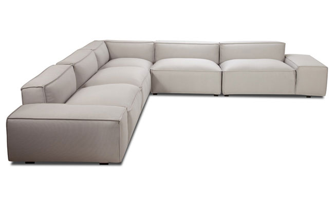 Easy-II-Light-Grey-Corner-Sofa-1