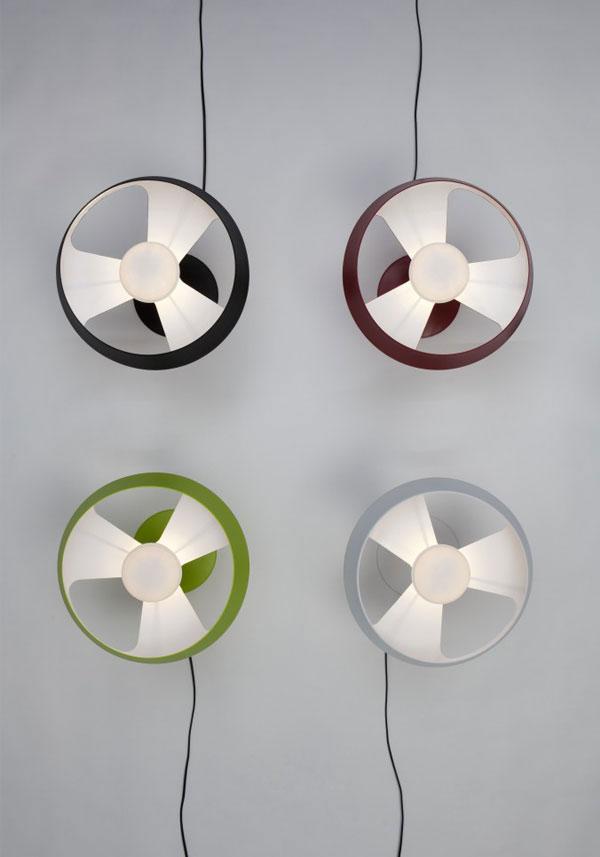 aerodynamic lamp design