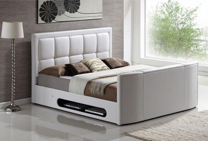 bedroom tv bed