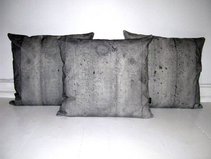 concrete pillows
