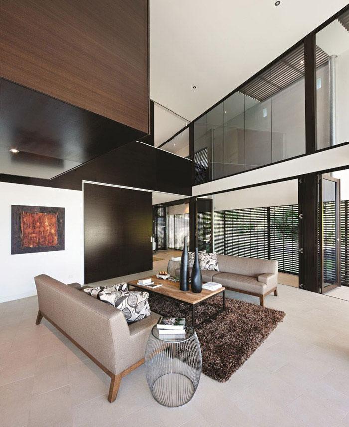 open house living room decor