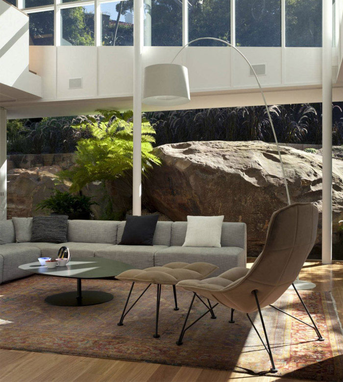 rock house living room