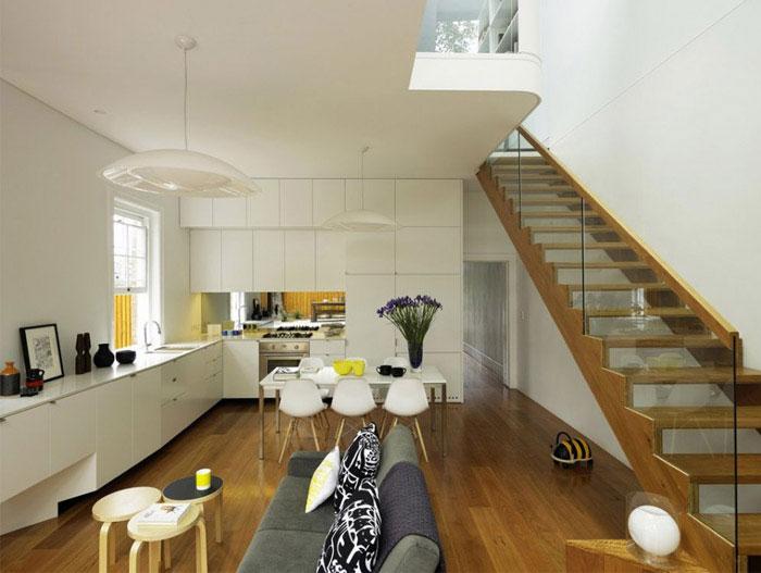 stylish home interior living room