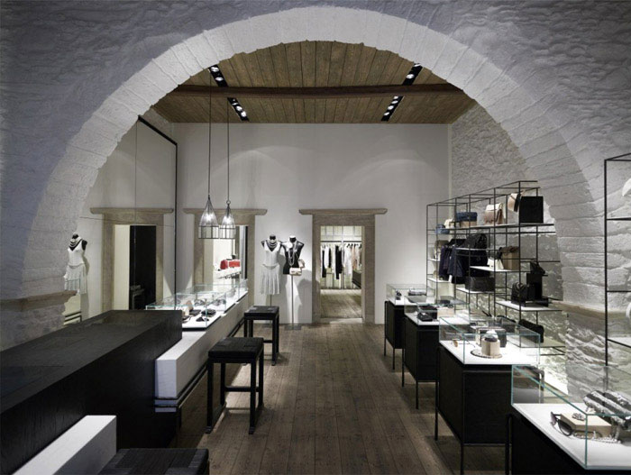 boutique interior decor