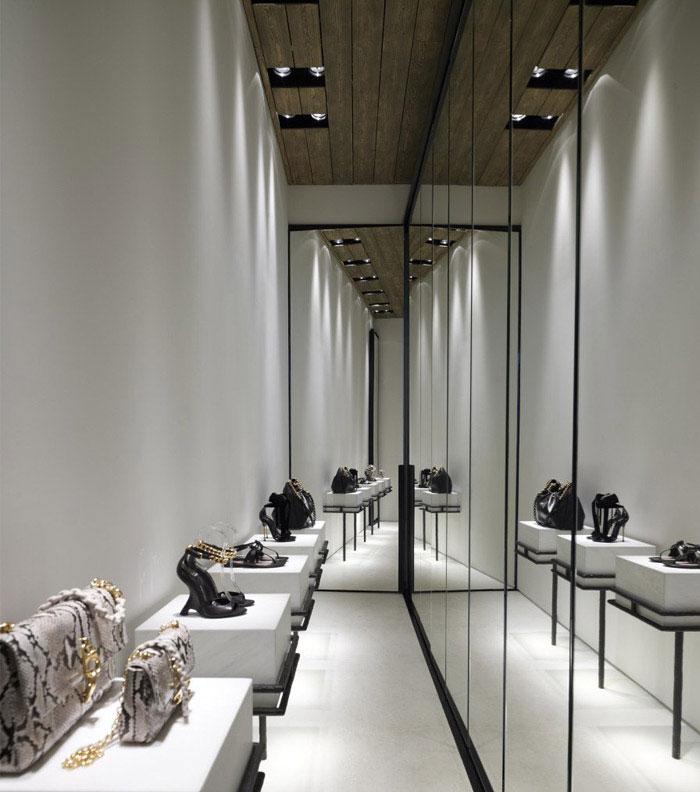 contemporary boutique interior