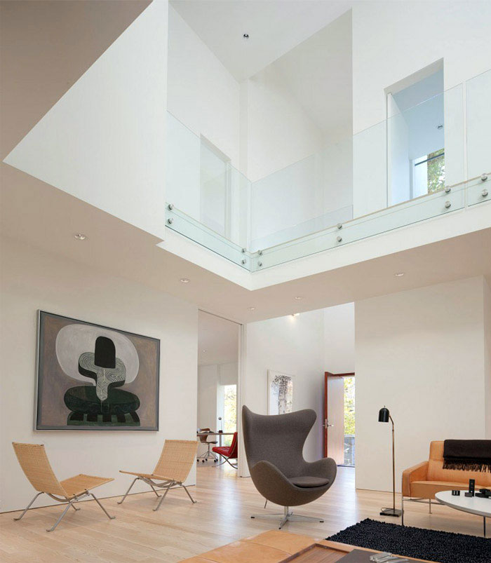 contemporary residence living room