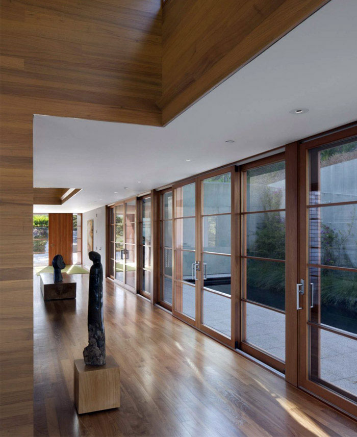 house incorporates passive active heating