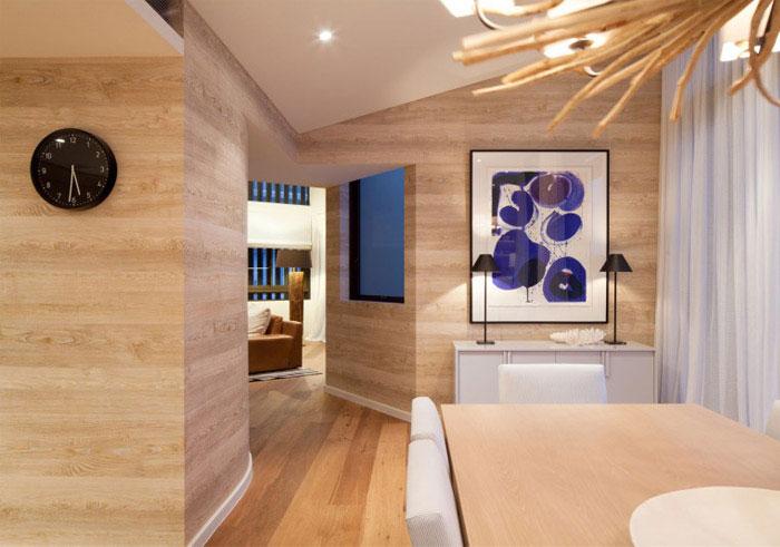 luxurious penthouse decor blue
