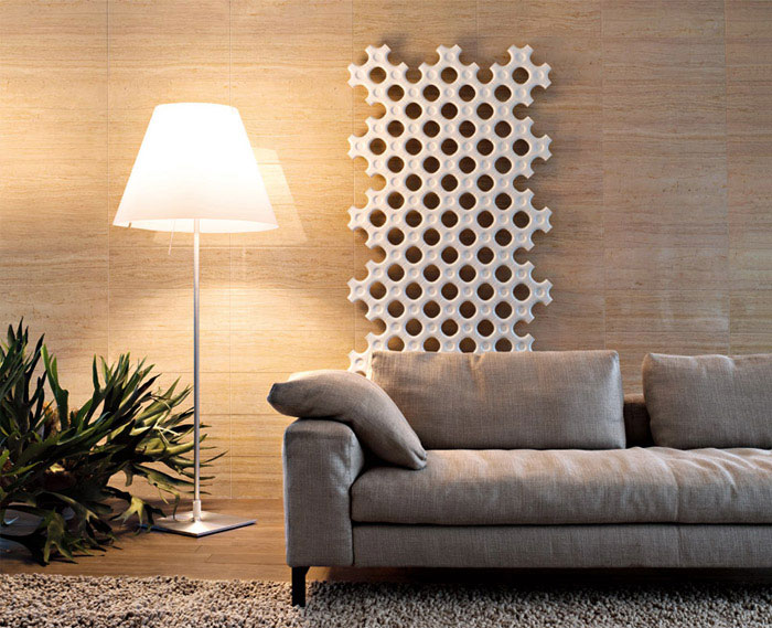 modular radiator white