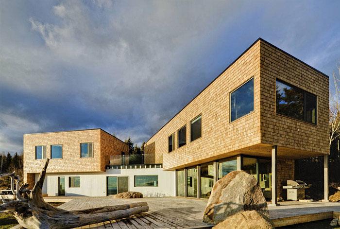 residence cedar shingles