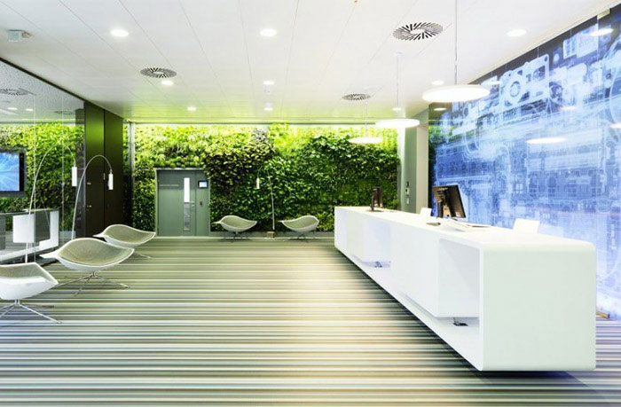 working environment green decor3