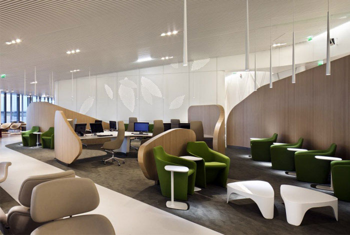 business lounge interior