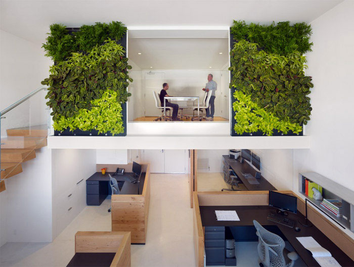 green decor office space