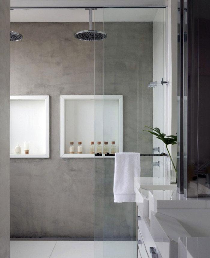 urban forest bathroom