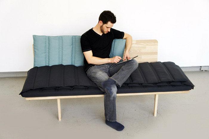 douglas leckie tri fold bench