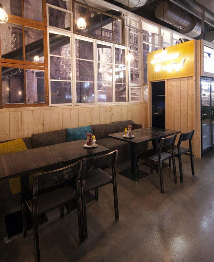 furniture concept restaurant