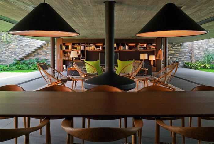 interior decor dining area