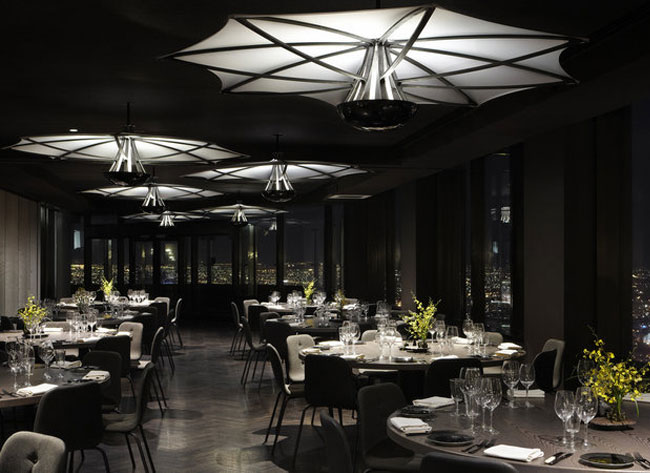 lighting furniture design restaurant decor