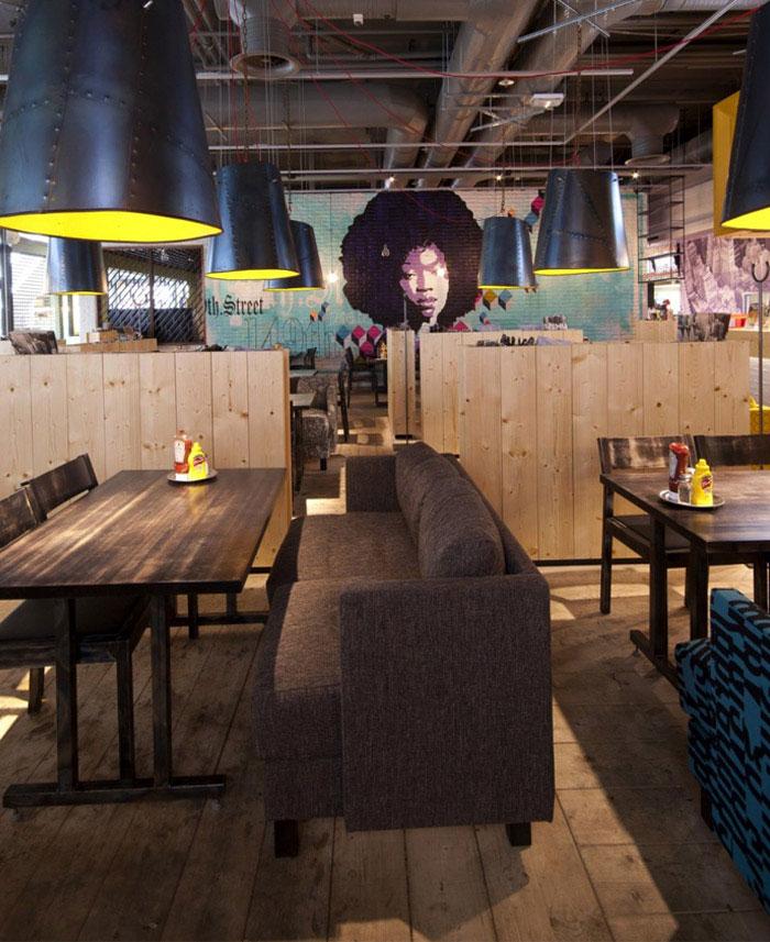 new space concept restaurant