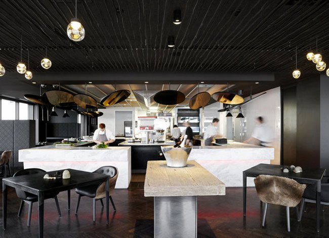 sustainable restaurant interior decor