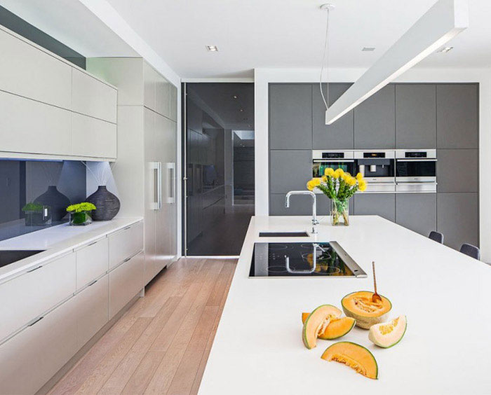 belvedere residence kitchen interior