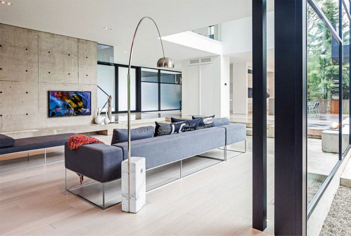 belvedere residence living room sofa