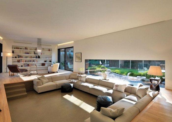 family house living room