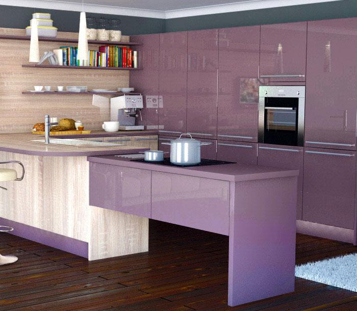 kitchen design trends italian aubergine