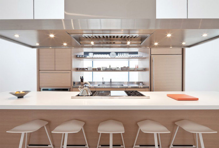 modern residential project interior kitchen