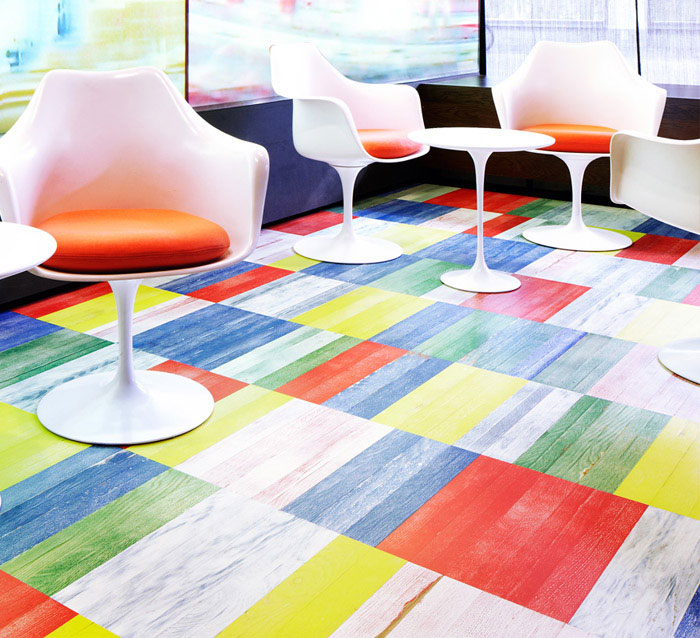 multi color parquet