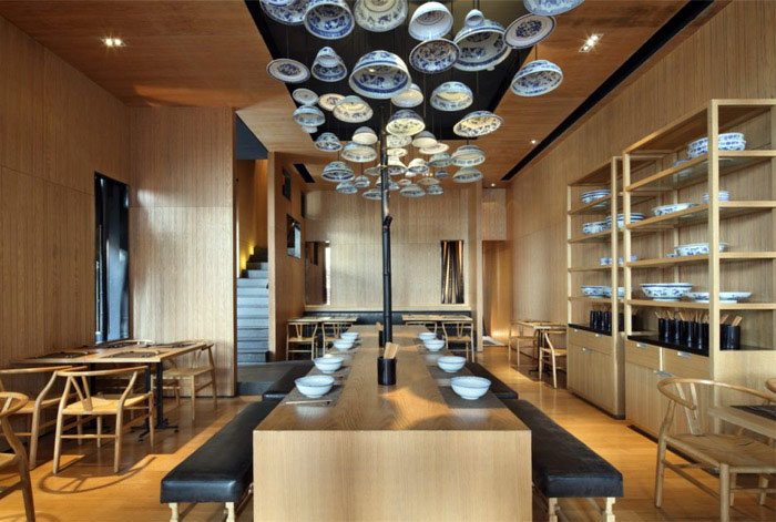 noodle house interior