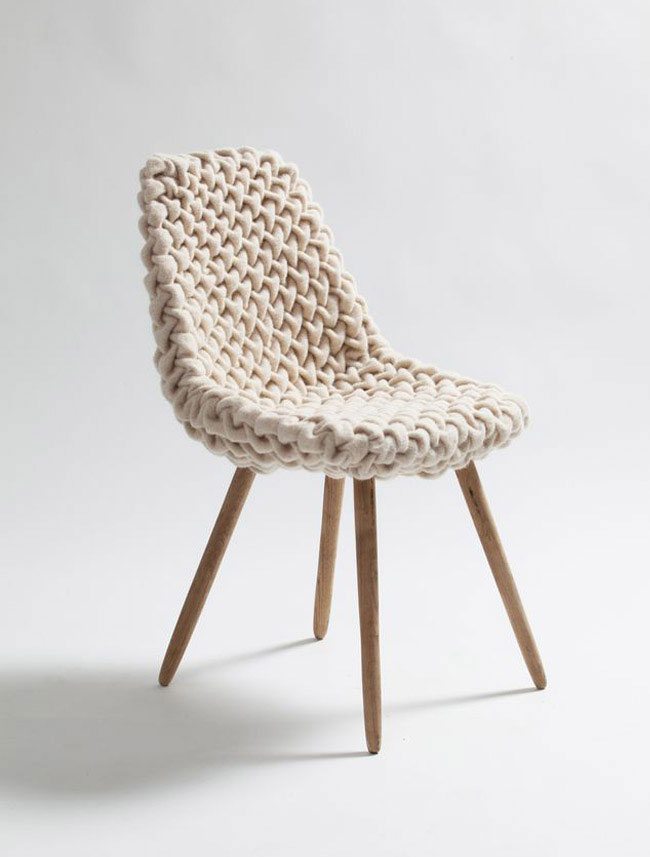 smok wool chair decor