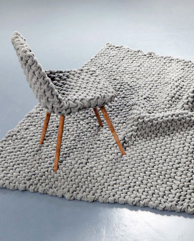 wool rug chair decor