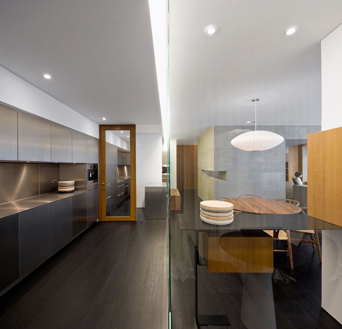 wu residence interior kitchen