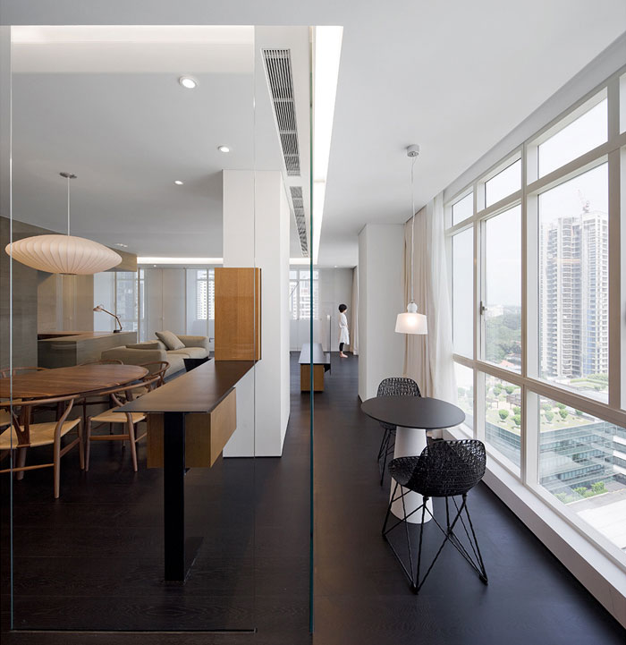 wu residence interior