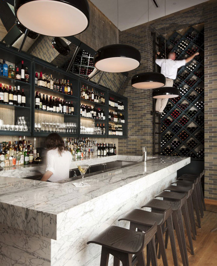 boutique hotel bar restorant
