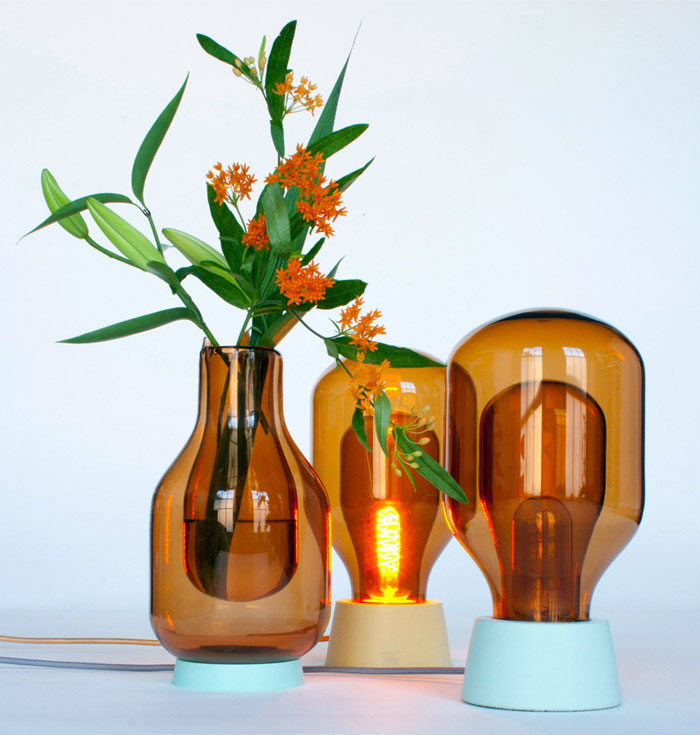 lamps vases inspired laboratory glassware