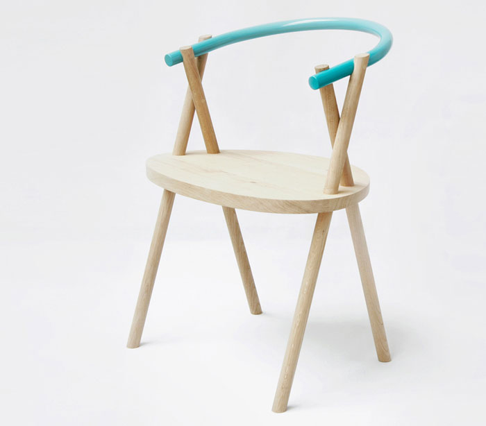 oak wood chair