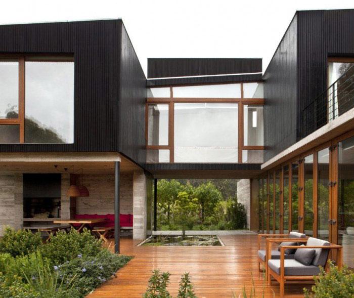 rock house garden