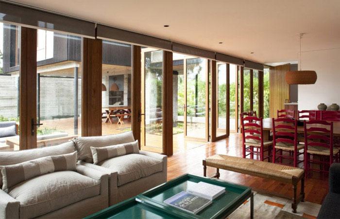 rock house interior