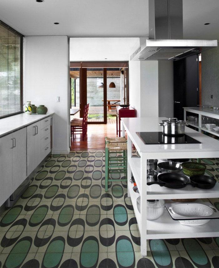 rock house kitchen decor