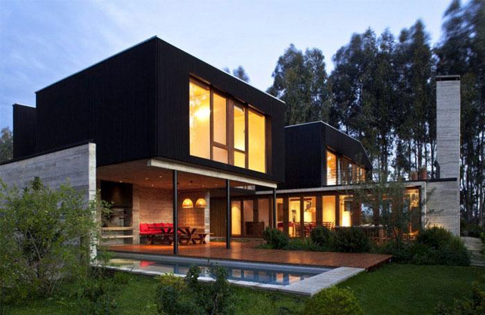 rock house outdoor area