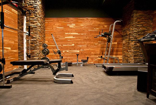 cellar as a gym