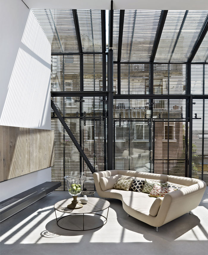 flat building interior
