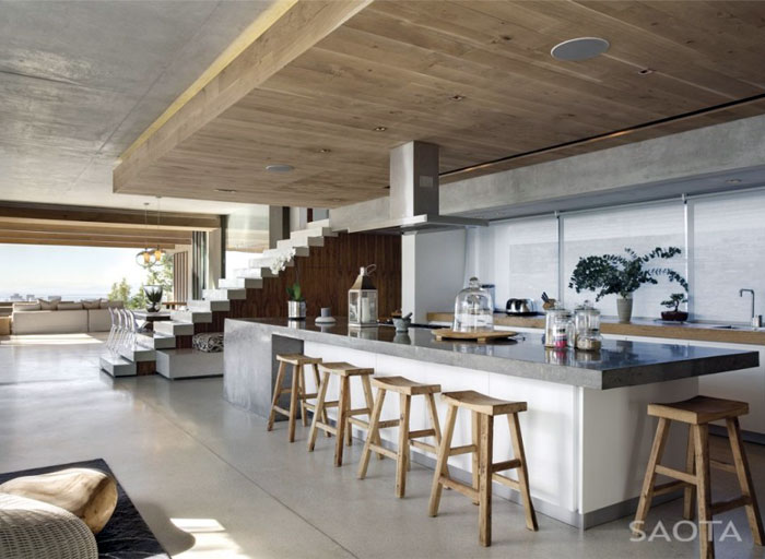 glen house saota kitchen area