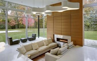 modern lifestyle family residence living room 338x212