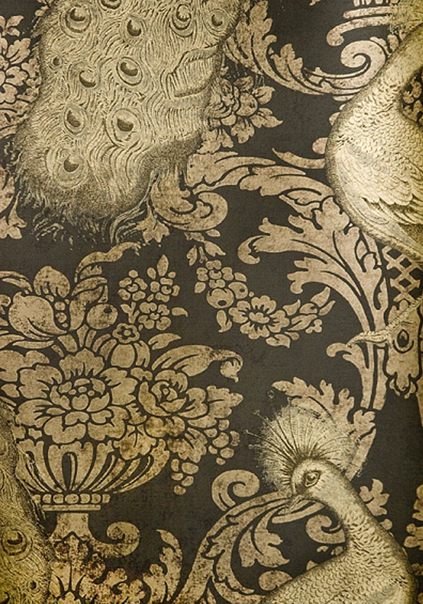 opulent influence fabrics wallpapers