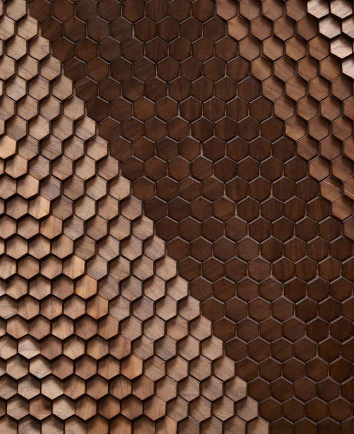 small hexagonal tile