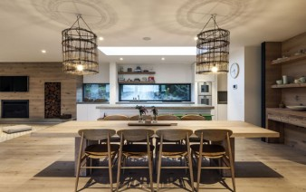 contemporary residence interior kitchen 338x212